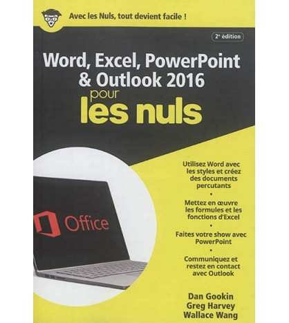 9782412029053-Word, Excel, PowerPoint & Outlook 2016 pour les nuls
