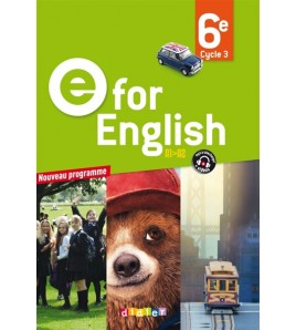 E For English 6E - Livre - 9782278083725