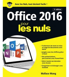 9782412028940 - Office 2016 pour les nuls : Word, Excel, PowerPoint, Access & Outlook