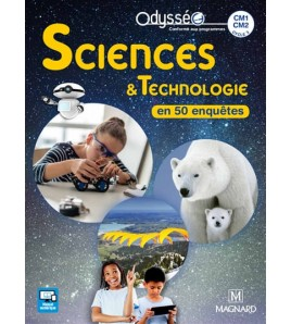 Sciences & technologie en 50 enquêtes, CM1, CM2, cycle 3 - 9782210504059