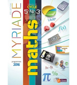 9782047332979 - Maths 5e, 4e, 3e : manuel de cycle 4 : programmes 2016