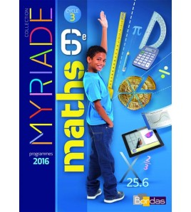 9782047332894 - Maths 6e, cycle 3 : programme 2016