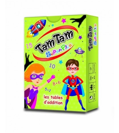 Tam tam superplus : les tables d'addition