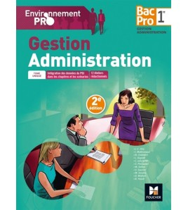 Gestion, administration : 1re bac pro gestion-administration
