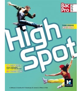 9782216134687 - Highspot, bac pro 2de, 1re, terminale : tome unique A2-B1+
