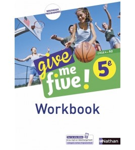 9782091780917-Give me five ! 5e, cycle 4, A2 : workbook
