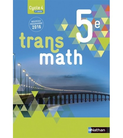 9782091719146-Transmath 5e, cycle 4, 1re année : grand format
