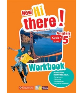 9782047333464-New Hi there ! anglais 5e, cycle 4, A1-A2 : workbook