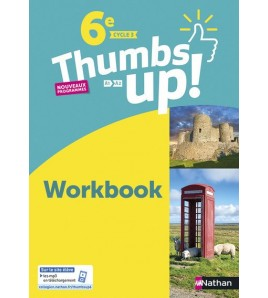 9782091780337-Thumbs up ! 6e, A1-A2, cycle 3 : workbook : nouveaux programmes