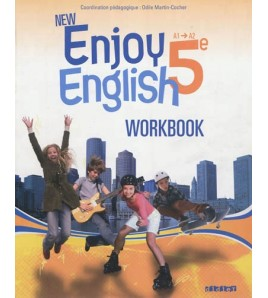 9782278073221-New Enjoy English 5e, A1-A2 : workbook