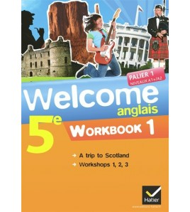 9782218955013-Welcome, anglais 5e : workbook 1&2