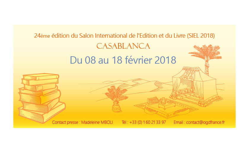 Salon International de l'Edition et du Livre (SIEL) 2018 à Casablanca